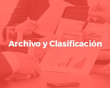 Archivos y Clasificación