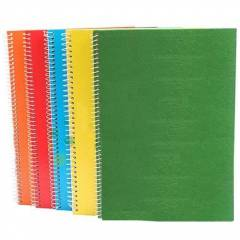 Cuaderno Tapa Dura 1 Raya Avón Universitario Colores Surtidos 100 Hojas