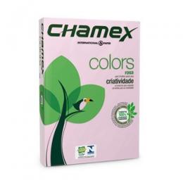 Resma Chamex - A4 Rosado