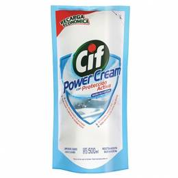 Cif Baño Power Cream Recarga Económica Cif 500 ml