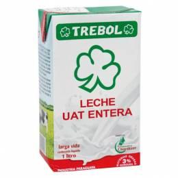 Leche Entera Trebol Tetra Pack 1 L Unidad