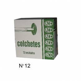 Colchete Metálico ACC Nro. 12 Caja x 72 Unidades