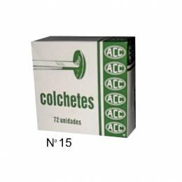 Colchete Metálico ACC Nro. 15 Caja x 72 Unidades