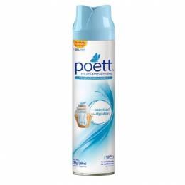 Desodorante de Ambiente Aerosol Poett Suavidad de Algodón 360 ml Unidad
