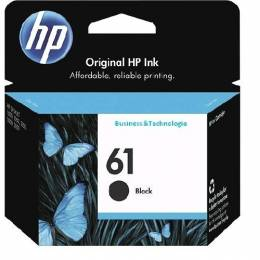 Cartucho de Tinta HP 61 Negro Unidad