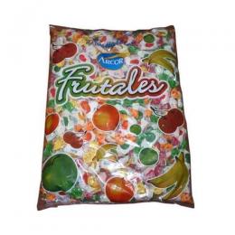 Caramelos Frutales Masticables Arcor Paquete 800 Gr