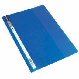 Carpeta Tapa Transparente Plus Office A4 Azul Unidad
