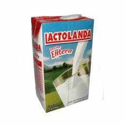 Leche Entera Lactolanda Tetra Pack 1 L Unidad