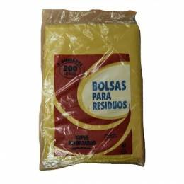 Bolsa para Residuos Polifoam Reforzado Amarillo 200 Lts Paquete x 5 Unidades
