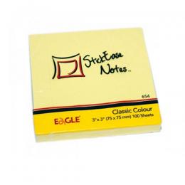 Notas Autoadhesivas Eagle Block 7,5 x 7,5 Colores Surtidos Unidad