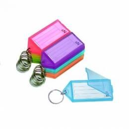 Llavero Plástico Pequeño Acrimet Colores Surtidos Paquete x 24 Unidades