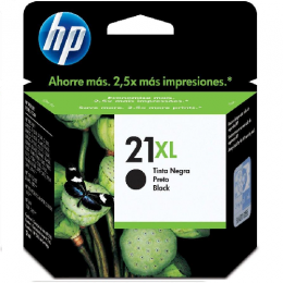Cartucho de Tinta HP 21 XL Negro Unidad