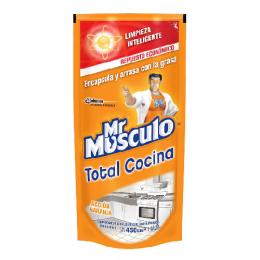 Limpiador Líquido Mr. Músculo para Baño/Cocina Recarga Económica 500 cc Unidad
