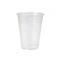 Vaso Plástico Asiplast Transparente 180 ml Tiras x 100 Unidades