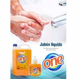 Jabón Líquido para Manos One 5 Lts