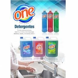 Detergente Líquido One 5 Lts Unidad