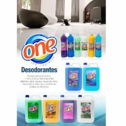 Desodorante de Ambiente Líquido One 5 Lts Unidad