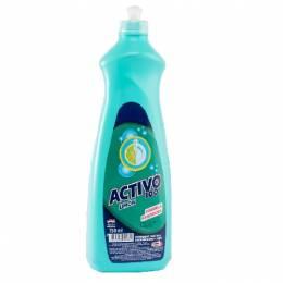 Detergente Lava Vajillas Activo 100 750 ml Unidad