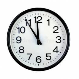 Reloj de Pared Redondo Grande Unidad