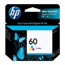 Cartucho de Tinta HP 60 Color Unidad